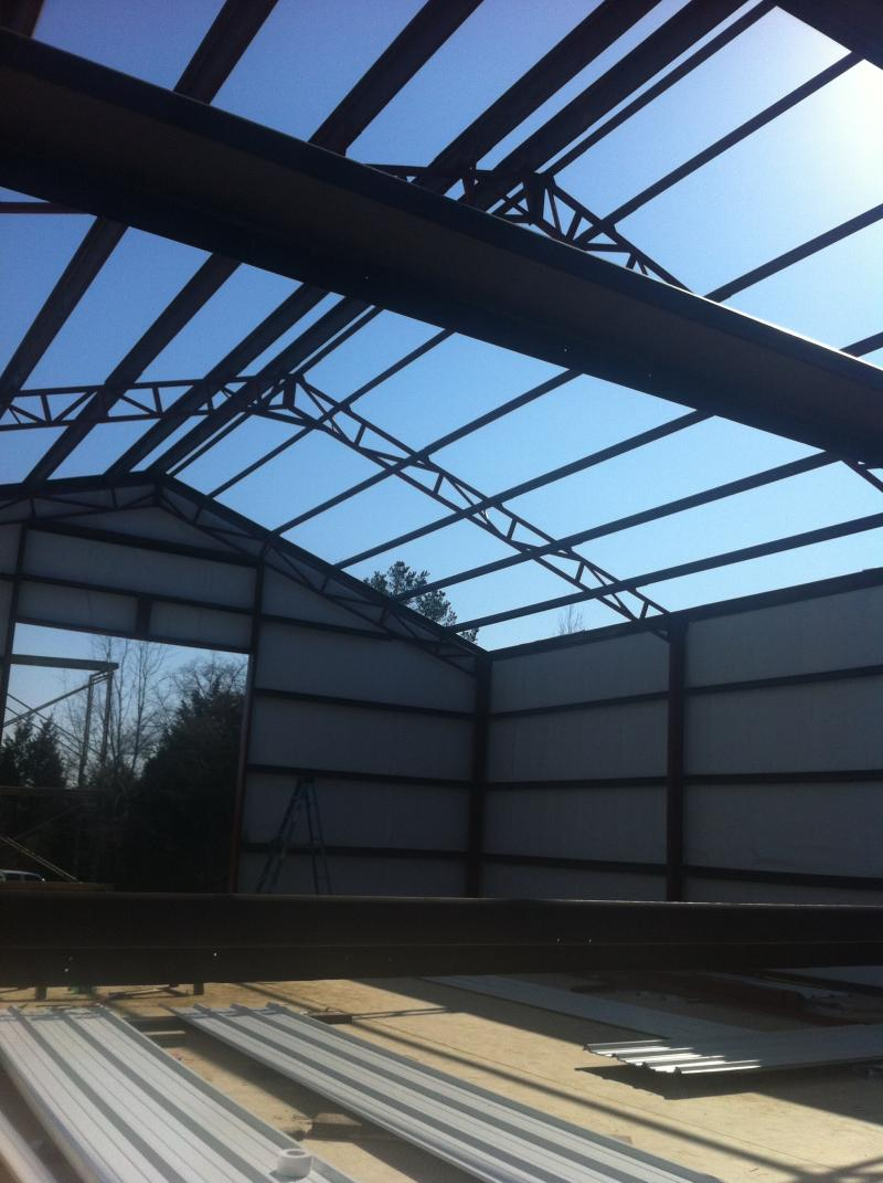 Steel building, searcy arkansas, steel buiding erection, shop